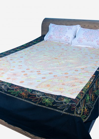 Nakshi Bed Sheet-NBS-024