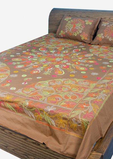 Nakshi Bed Sheet-NBS-025