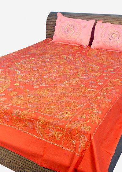 Nakshi Bed Sheet-NBS-029