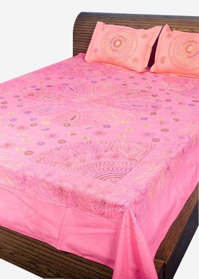 Nakshi Bed Sheet-NBS-012