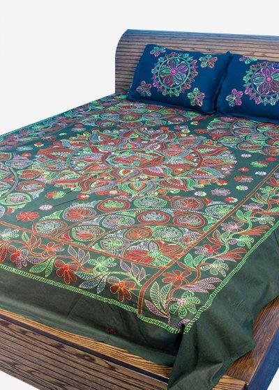 Nakshi Bed Sheet-NBS-016