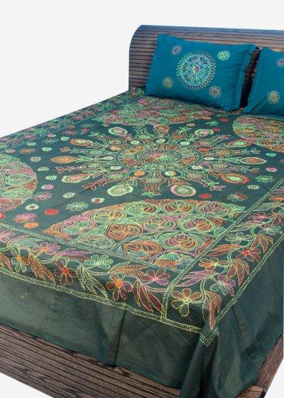 Nakshi Bed Sheet-NBS-020
