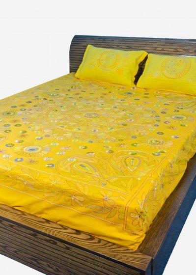 Nakshi Bed Sheet-NBS-032